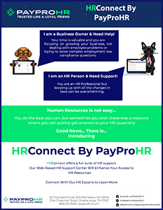 HRConnect by PayPro HR