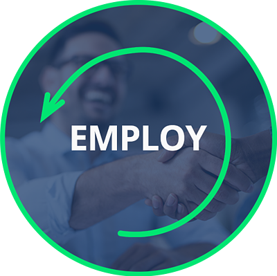 Employ Circle Icon