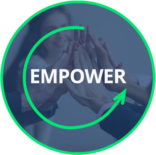 Empower Circle Icon