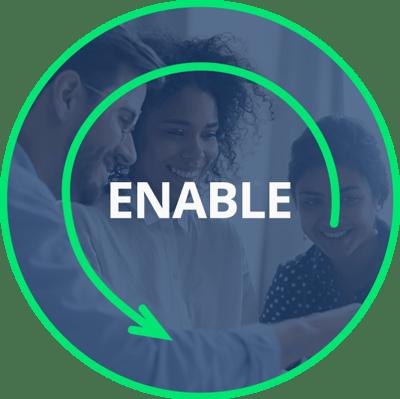 Enable Circle Icon